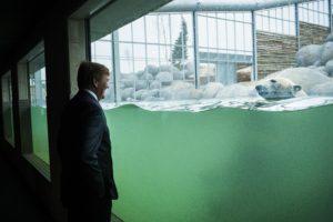 Nederland, Emmen, 18-03-'16; Koning Willem-Alexander opent het nieuwe Wildlands Adventure Zoo Emmen. Foto: Kees van de Veen